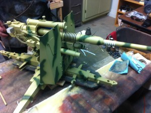 88mm German Flak barrell with rings
